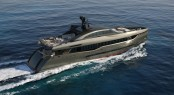 40m luxury yacht Columbus Sport 130� Hybrid by Palumbo