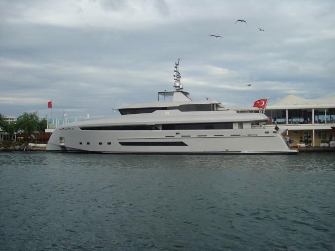 40m superyacht Bilgin 132 by Bilgin Yachts and H2 Yacht Design
