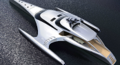 42.5m luxury trimaran yacht ADASTRA by McConaghy Boats