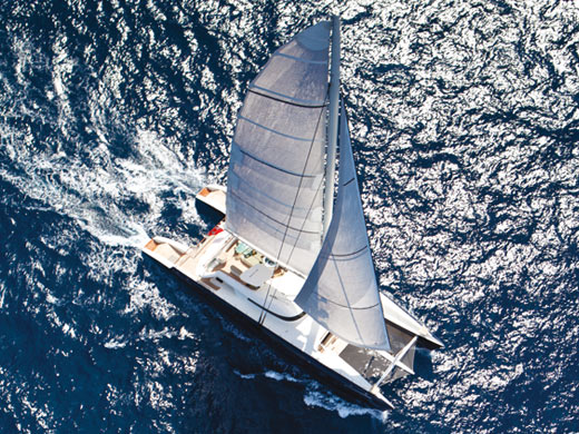 44.2m catamaran yacht Hemisphere by Pendennis