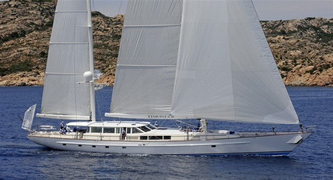 44.8m sailing yacht Timoneer by Vitters Shipyard