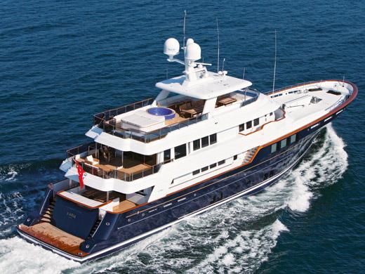 45m superyacht Karia by RMK Marine