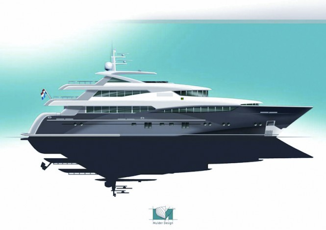 46m motor yacht '2 Ladies' by Rossi Navi – Superyacht hull number FR025