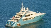47m luxury motor yacht Aquamarina by ISA after her refit