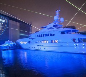 47m motor yacht Lady Petra (ex hull YN 15747) launched by Heesen Yachts