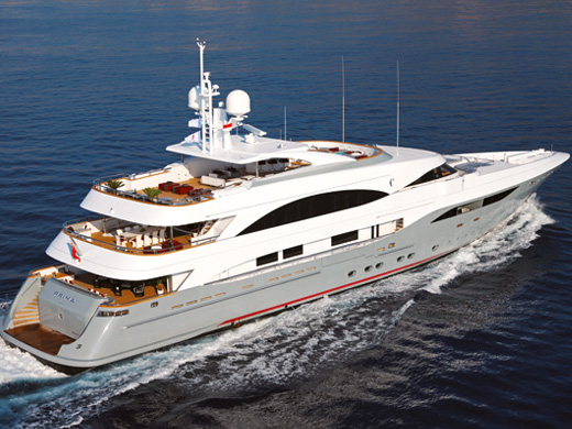 53.7m luxury yacht Prima by Palumbo