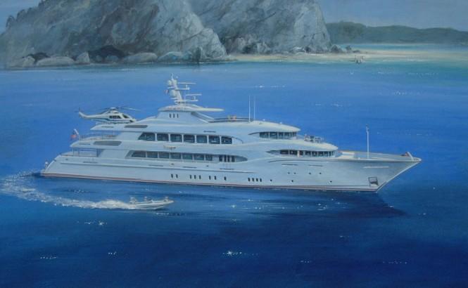 60.4m luxury motor yacht Areti by Trinity Yachts
