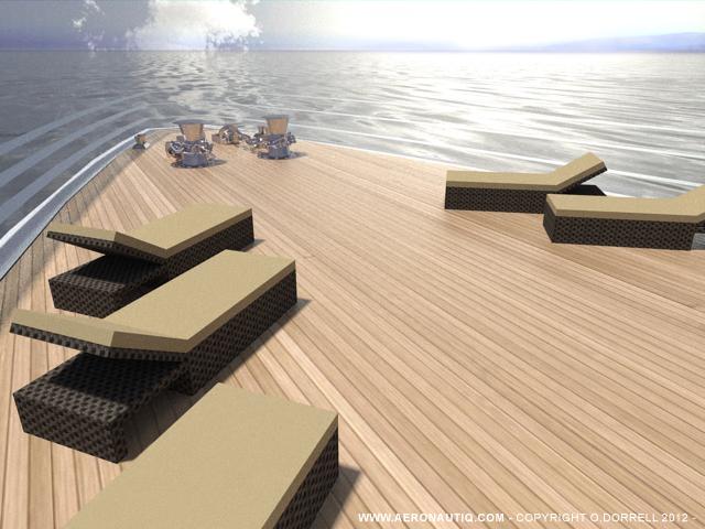 68m luxury yacht Hercule by Aeronautiq