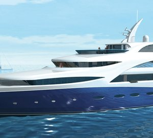H2 Yacht Designed 71m Motor yacht 'AGAT' in build by Sevmash