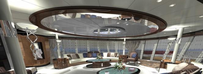 AGAT superyacht - Image courtesy of her designer H2 Yacht Design