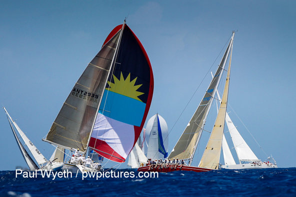 Antigua Sailing Week 2012 Credit: P. Wyeth/pwpictures.com