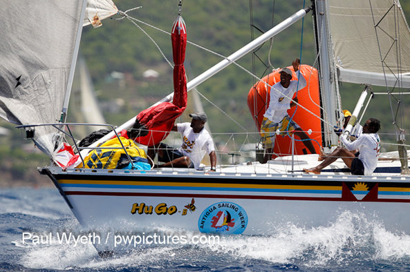 Antigua Sailing Week 2012 Day 2: Dream-like conditions