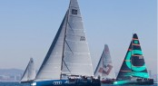 Audi Azzurra Sailing Team competing in the Trofeo Conde de Godó Photo by Jesus Renedo/Azzurra