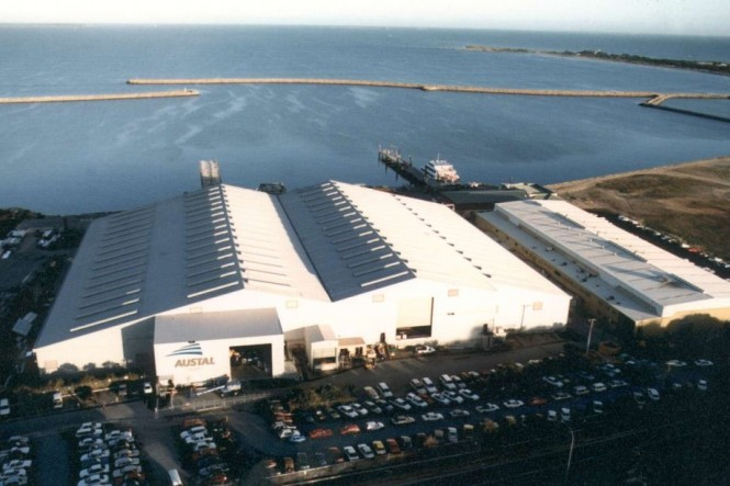 Austal´s New Henderson Marine Support Base in Western Australia