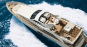 Azimut Grande 105 superyacht - view from above