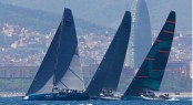 Azzurra competing in the 39th Trofeo Conde de Codo