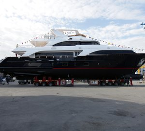 Benetti Classic 121' motor yacht Option B successfully launched