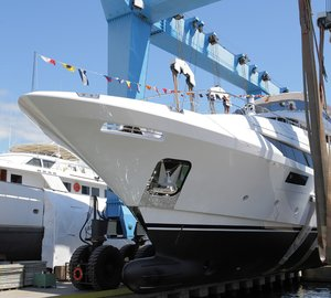 The first Benetti Classic Supreme 132' Yacht launched