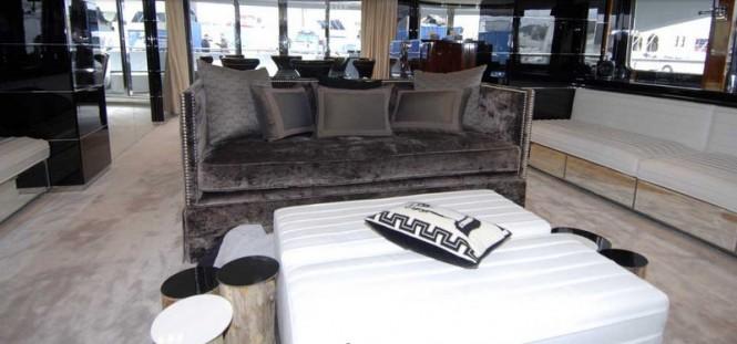 Bliss Superyacht Luxurious Interior - Image courtesy of Superyacht Interiors Mallorca