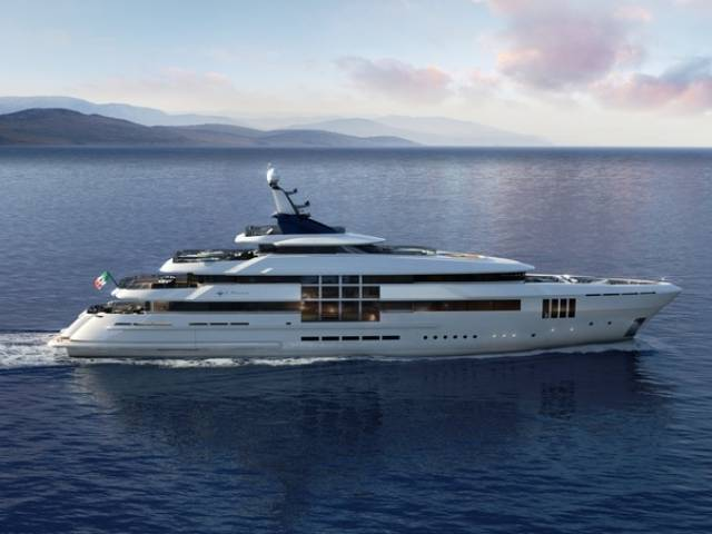 C Force superyacht line by Admiral Tecnomar