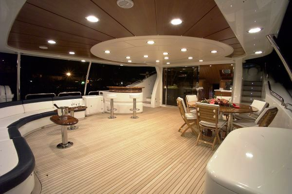 Charter Yacht BEYOND THE CLOUDS -  Upper Deck
