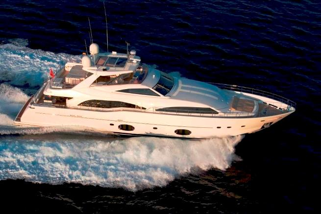 Charter Yacht INSPIRATION B - From The Air