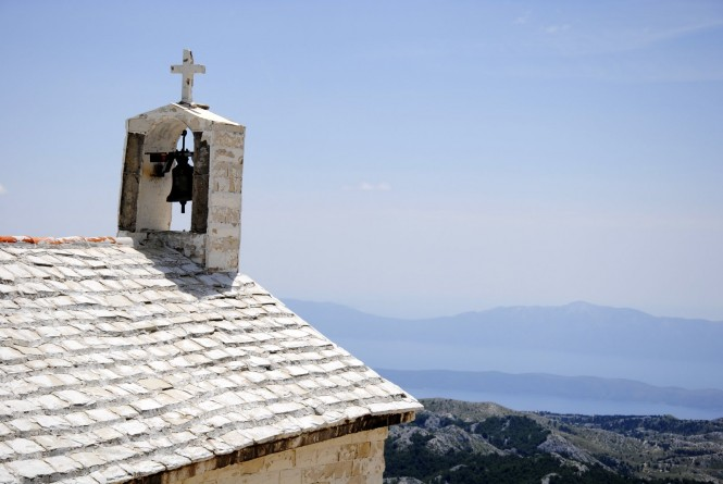 Church at Mount St. Jure, Biokovo National Park, Croatia - Photo credit Eduard Csekes, MD