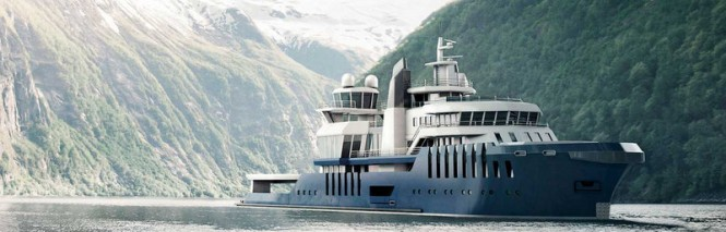 Claydon Reeves designed superyacht COSMOS