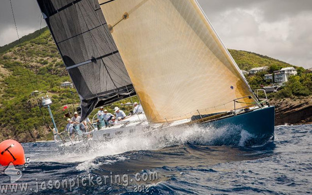 Geoff Hill's Santa Cruz 72 sailing yacht Antipodes Credit: Jason Pickering