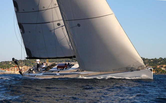 Excellent high performance sailing yacht LUPA OF LONDON Sail
