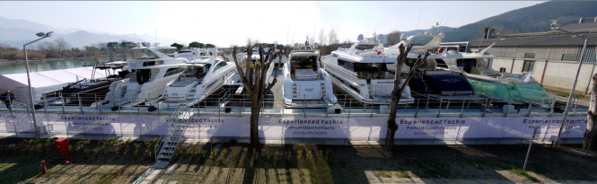 Experienced Yachts by Sanlorenzo