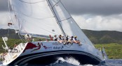 Ondeck's Farr 65, Spirit of Isis racing during the 45th Antigua Sailing Week Credit: Paul Wyeth/pwpicturescom