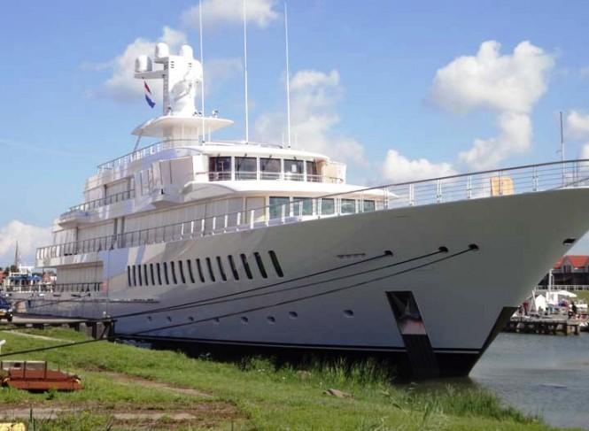 Feadship luxury yacht Musashi