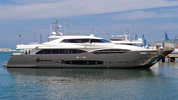 Third Custom Line 124 superyacht