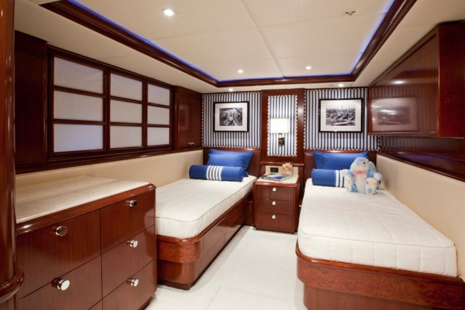 Glaze superyacht - Twin cabin
