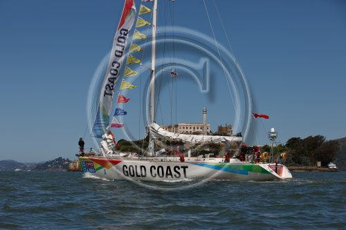 Gold Coast Australia team during the Clipper 11-12 Round the World Yacht Race Credit Abner KingmanonEdition