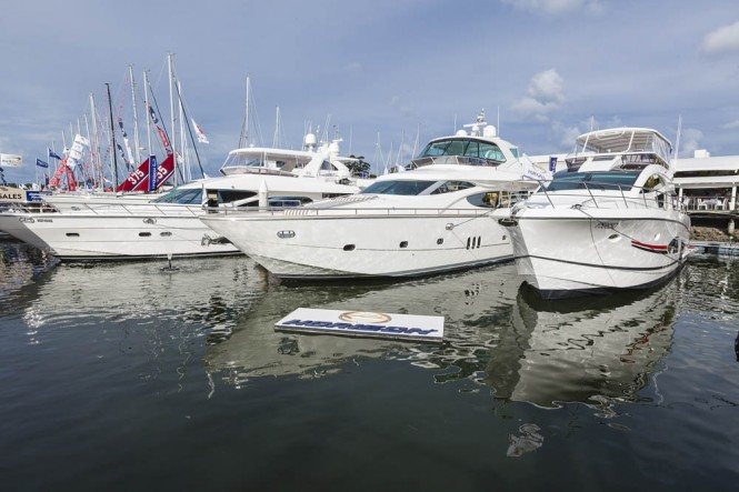 Horizon Yachts at SCIBS 2012