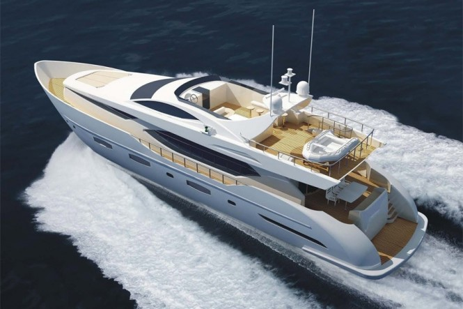 IAG 100 superyacht Electra - Best Asian Built Yacht