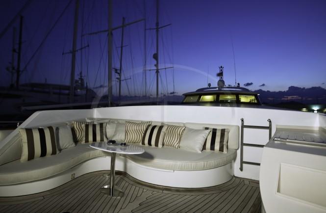 Luxurious exterior aboard AD5 superyacht