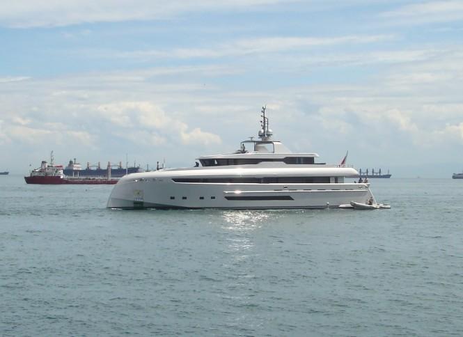 Luxury motor yacht Bilgin 132