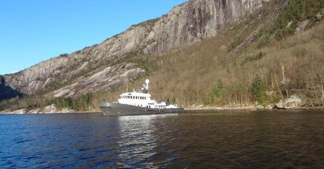 Luxury motor yacht Lars (ex Zeemeeuw)in Norway