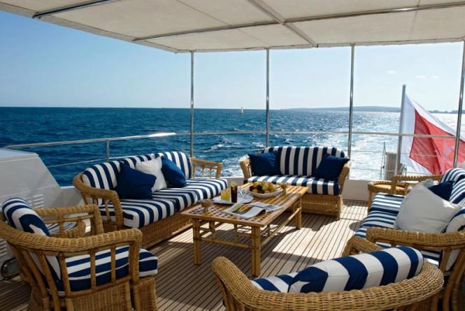 Motor Yacht Daniella -  Upper deck