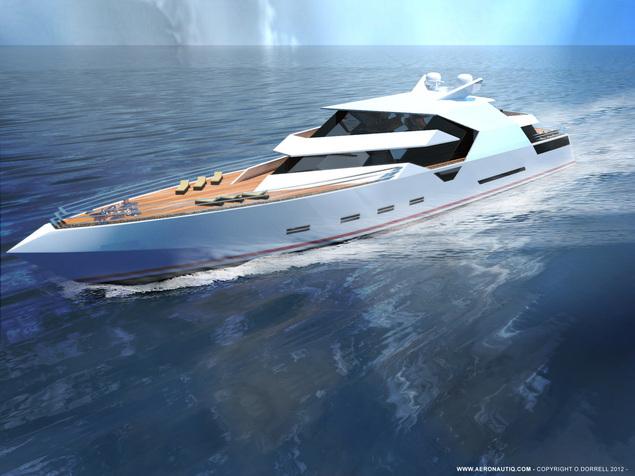 Motor Yacht Hercule by Aeronautiq