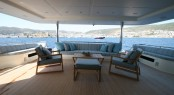 Motor Yacht M&amp;M - Aft Seating Area