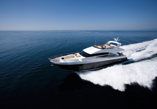 Motor Yacht Princess 72 - Image courtesy of Princess Yachts International