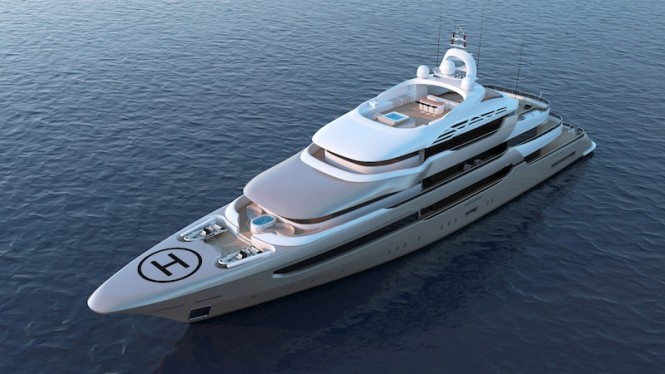 Motor Yacht Pro Golden Project by Proteksan Turquoise