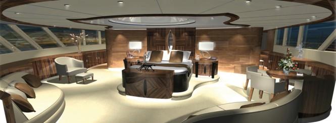 Motor yacht AGAT - Image courtesy of her designer H2 Yacht Design