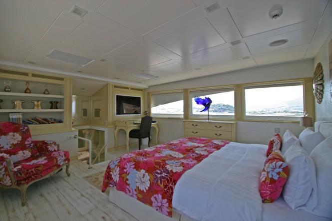 Motor yacht M&M - Main Deck Master Cabin