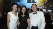 Ms. Linda Lin, Chairperson of Lin's Investment Group and friend, Dr. Cecil Chao Sze Tsung, Chairman of Cheuk Nang (Holdings) Ltd