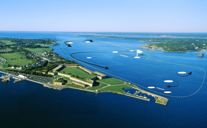 Newport AC World Series - Newports map  Onne van der Wal/Panoramic